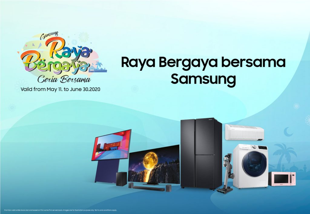 Get Some Good Home Entertainment Deals with Samsung Raya Bergaya Ceria Bersama Promo