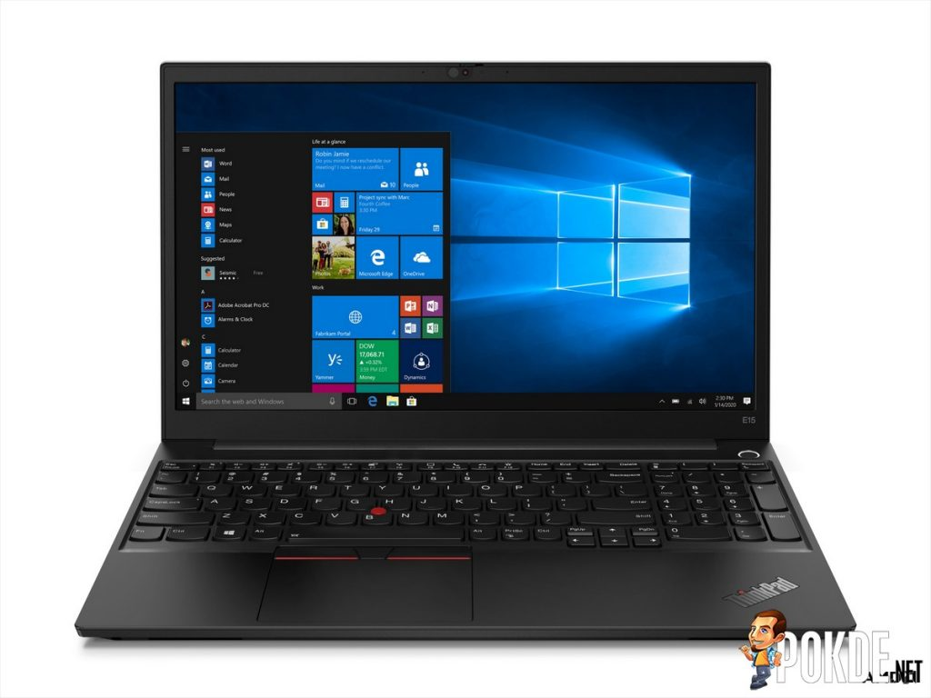 Lenovo Malaysia Launched ThinkPad E14 and E15 for SMB 21