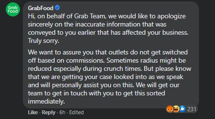 GrabFood Accused of Turning Off Restaurants With Lower Commission Rates in Secret