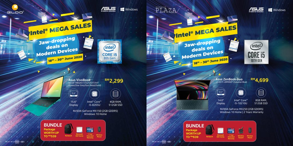 Great Deals on ASUS Modern Devices Powered by Intel® Core™ CPU and Windows 10 19