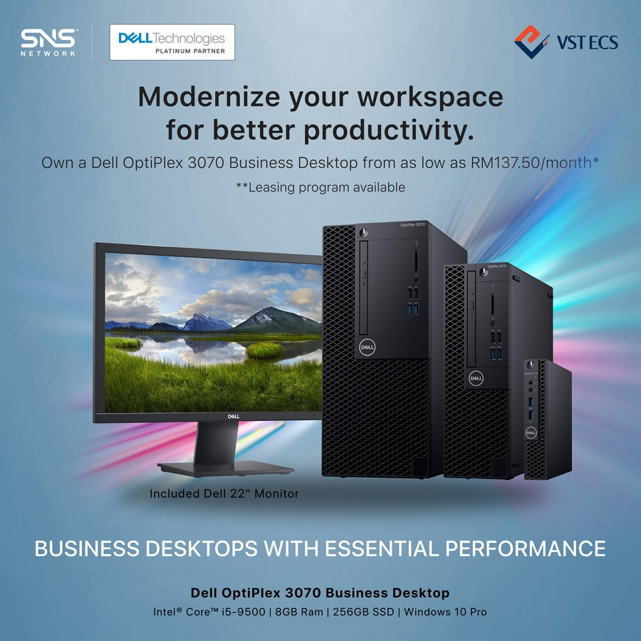 Revitalize Your Business with Dell Latitude 3410 and Optiplex 3070 26