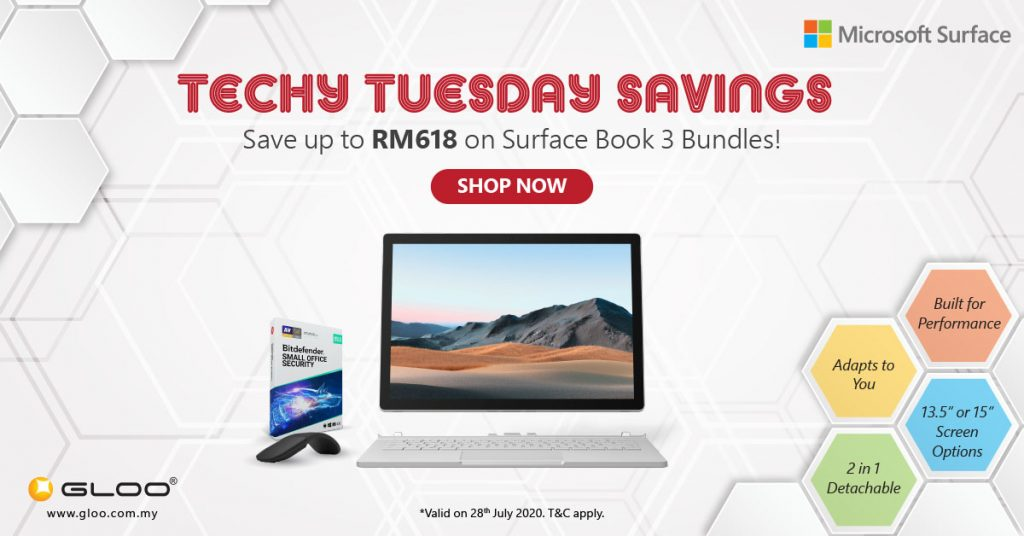 Unbelievable Savings on Microsoft Surface and Microsoft Office at Techy Tuesday