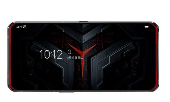 Lenovo Legion gaming phone screen
