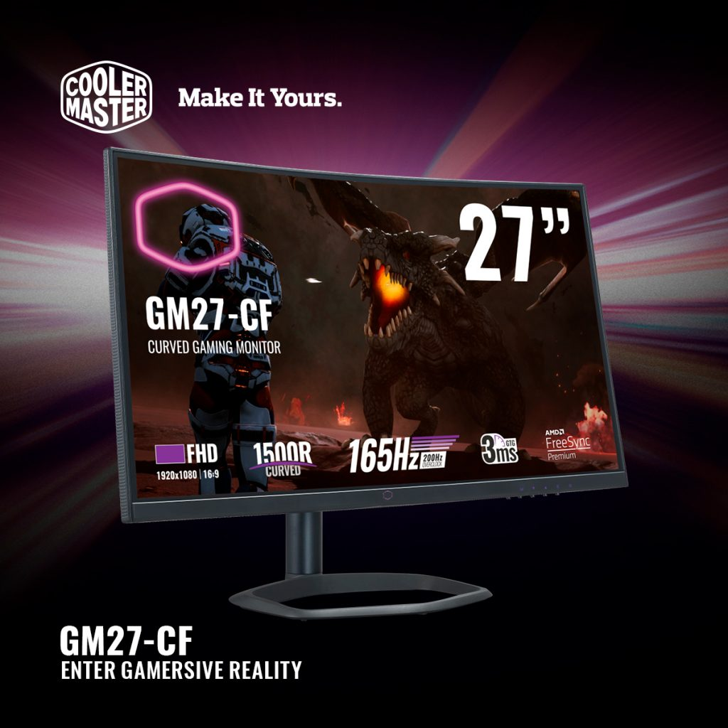 Cooler Master GM27-CF & GM34-CW Gaming Monitors Now Available From RM1,369 33