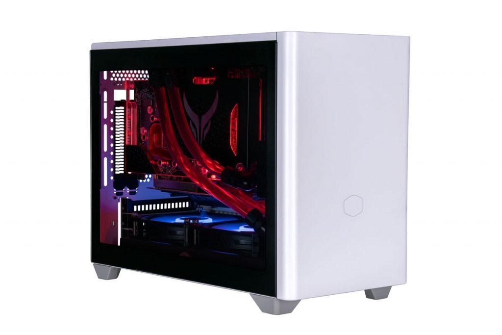 Cooler Master NR200P white vertical GPU