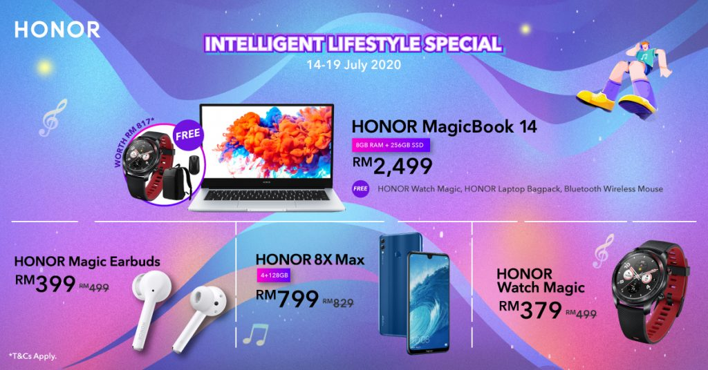 HONOR Intelligent Lifestyle Special Is Back With Offers All Around 29