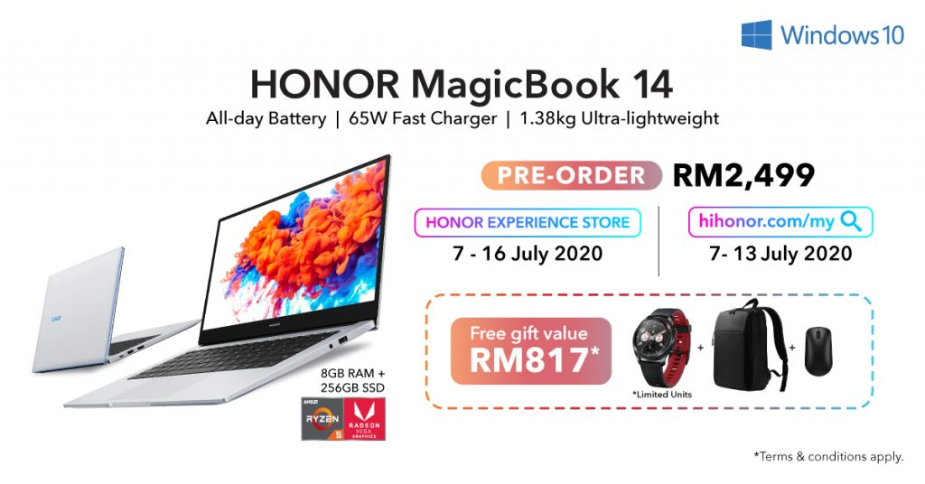 HONOR MagicBook 14 Available For Preorder Tomorrow At RM2,499 29