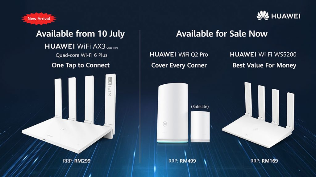 HUAWEI WiFi AX3 pricing availability