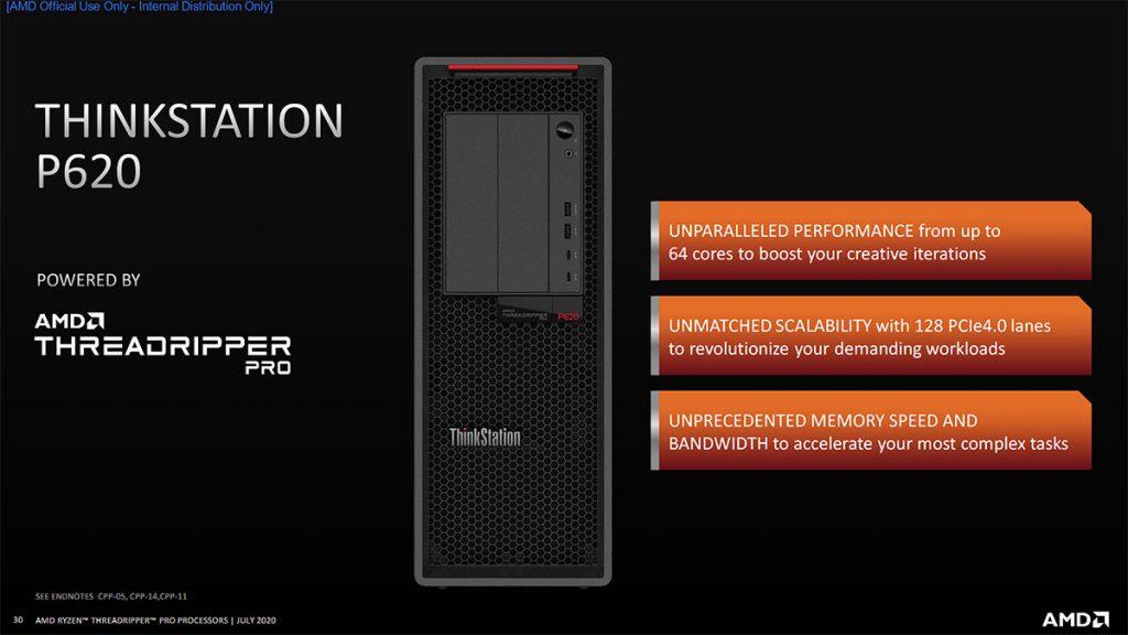 Lenovo ThinkStation P620 Ryzen Threadripper PRO