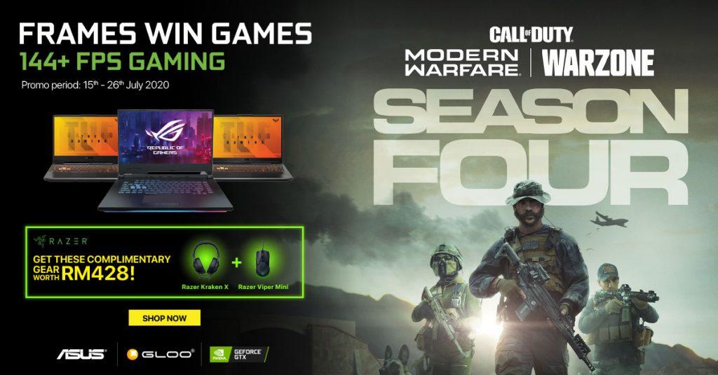 NVIDIA Online Campaign Promo ASUS