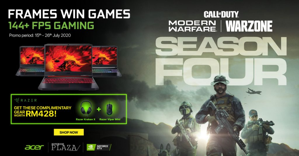 NVIDIA Online Campaign Promo Acer
