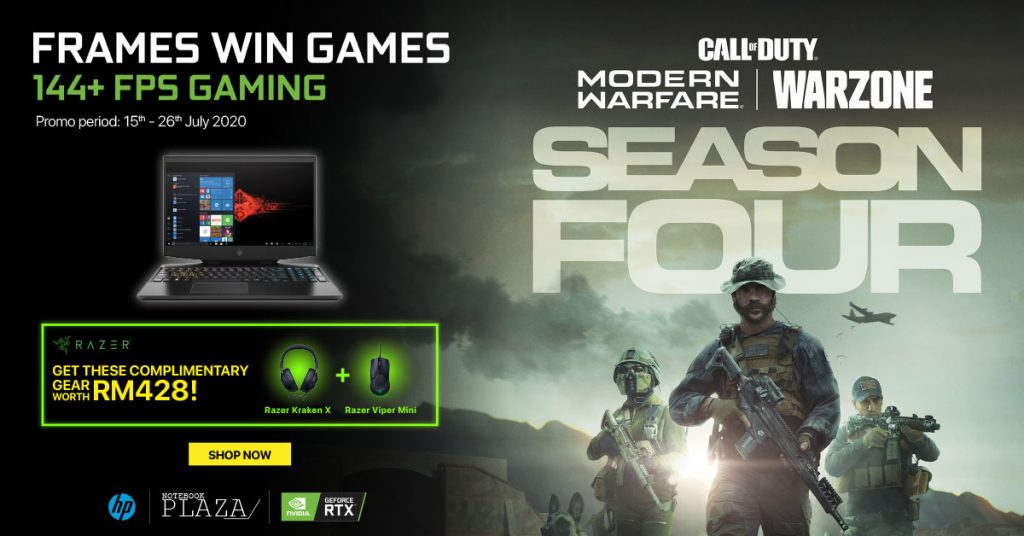 NVIDIA Online Campaign Promo HP