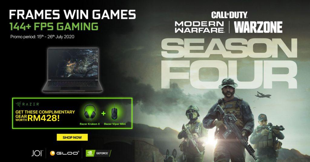 NVIDIA Online Campaign Promo JOI