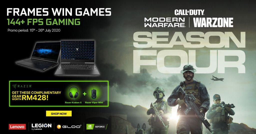 NVIDIA Online Campaign Promo Lenovo