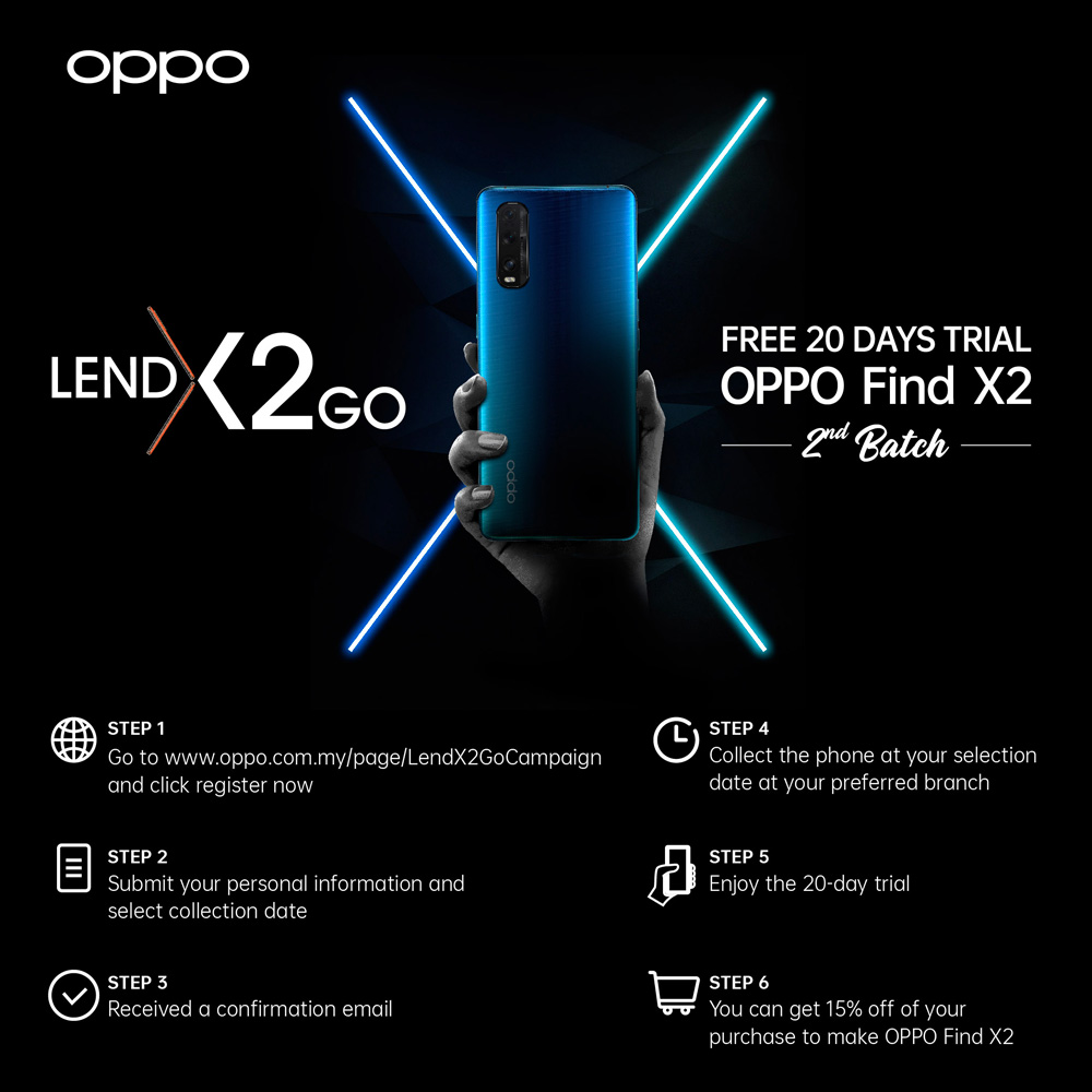OPPO LendX2Go Campaign Continues For 2nd Run 30
