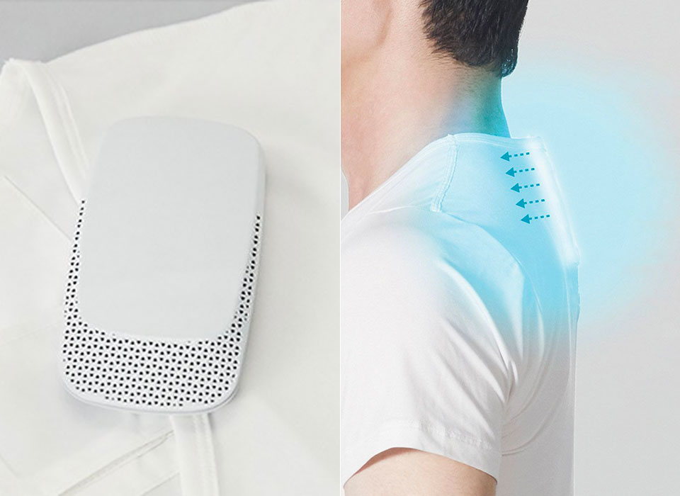 Sony Unveils New Wearable Air Conditioner That You Can Bring Anywhere