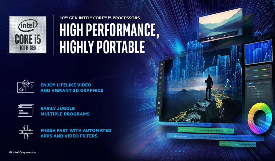 10th Gen Intel Core i5 blurb