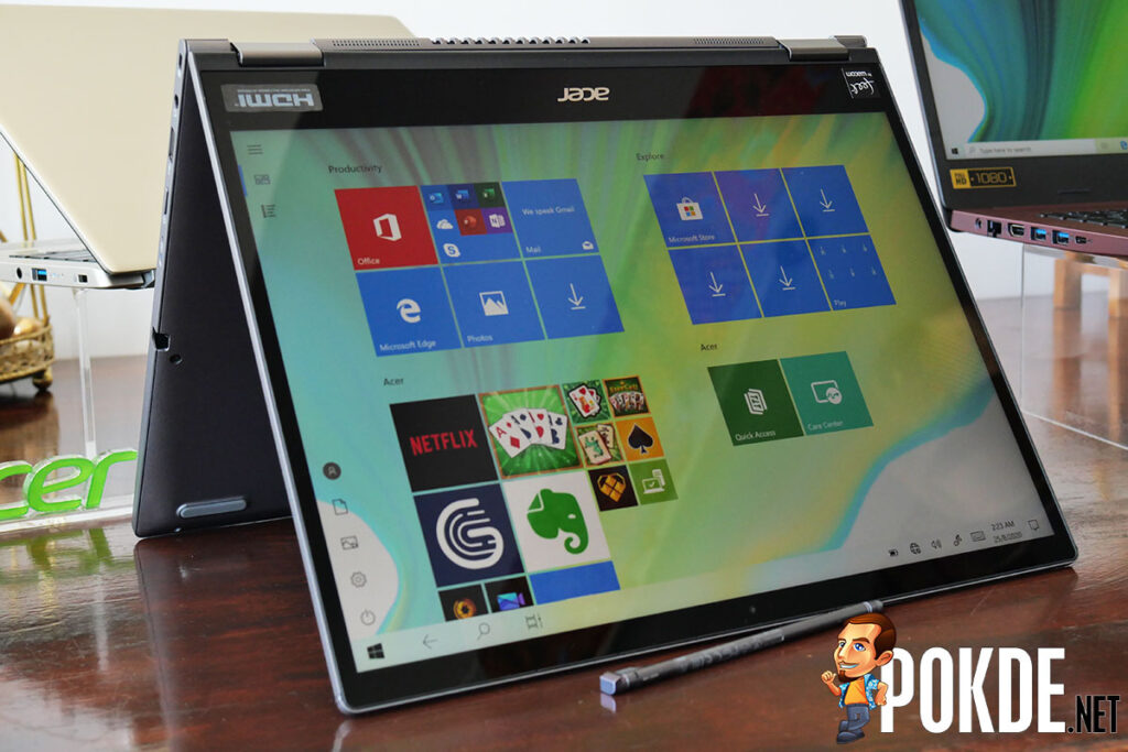 Acer Spin 5 fold