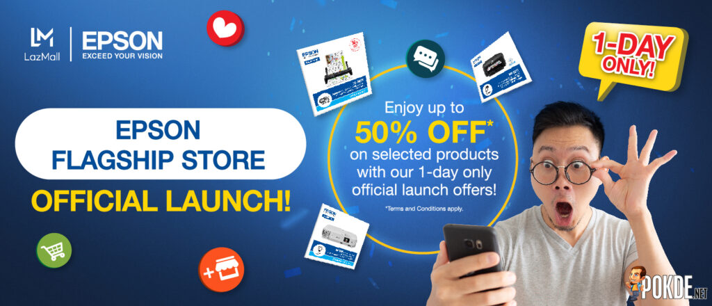 Epson Official Stores Lazada Official Launch
