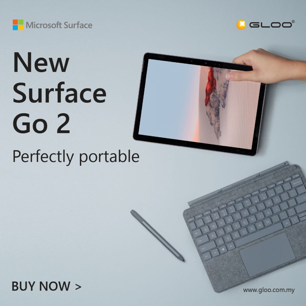 Get A Special Deal for the Microsoft Surface Go 2 With Bundles Worth Up to RM600