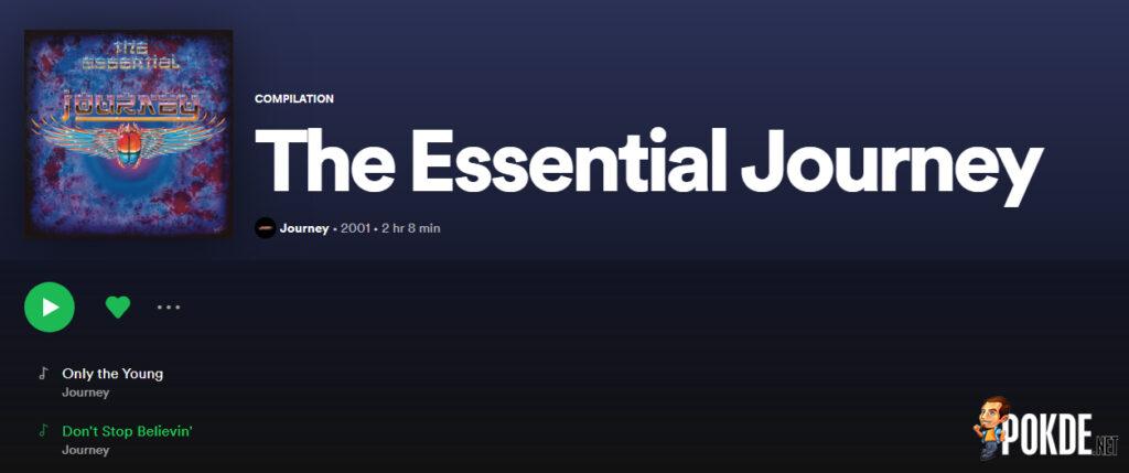 Journey Spotify