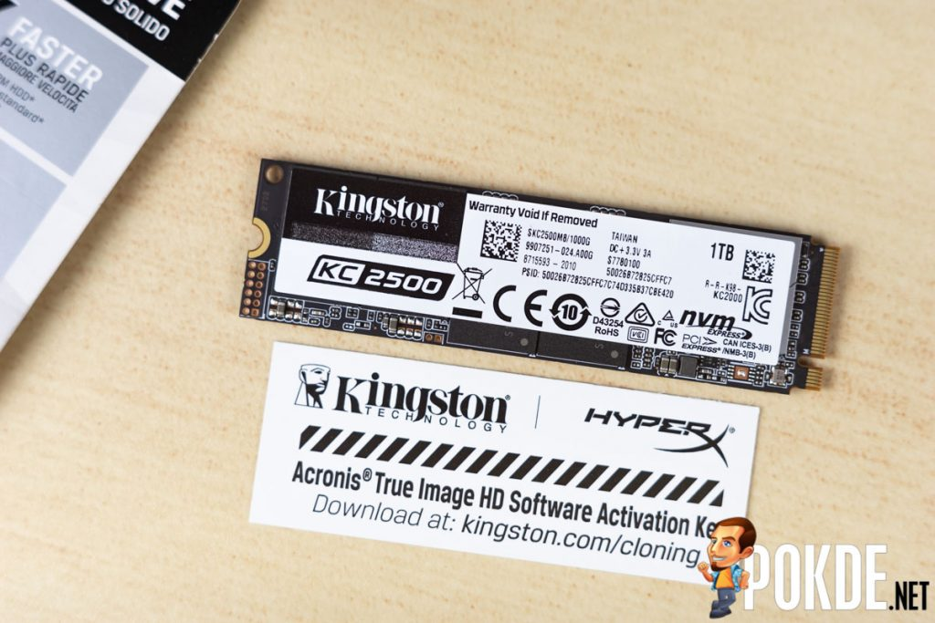 Kingston KC2500 M.2 PCIe NVMe 1TB SSD Review — great speed comes at a sizeable cost 27