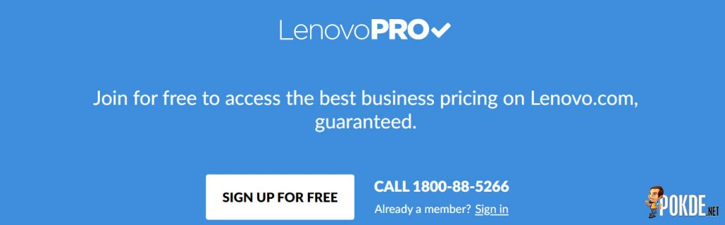 LenovoPRO membership programme