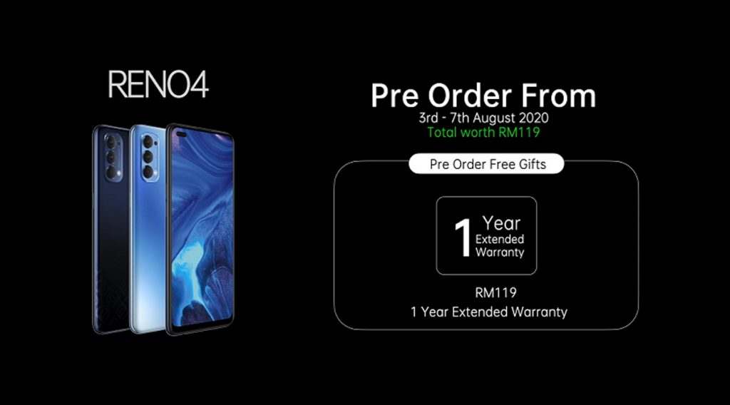 OPPO Reno4 Series Launched From RM1,699 20