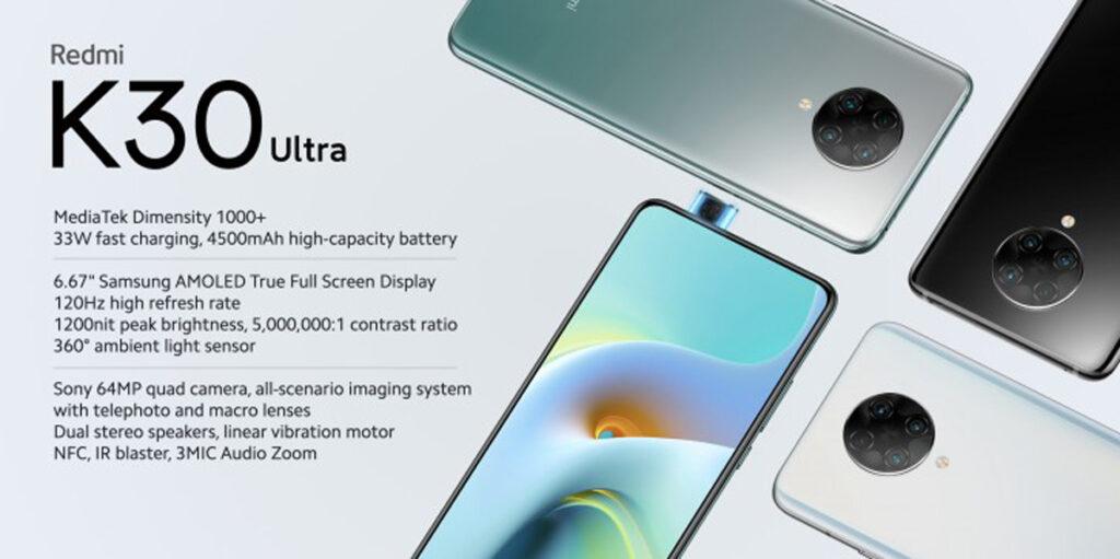 Redmi K30 Ultra Unveiled With Dimensity 1000+ SoC Plus 120Hz Display 22