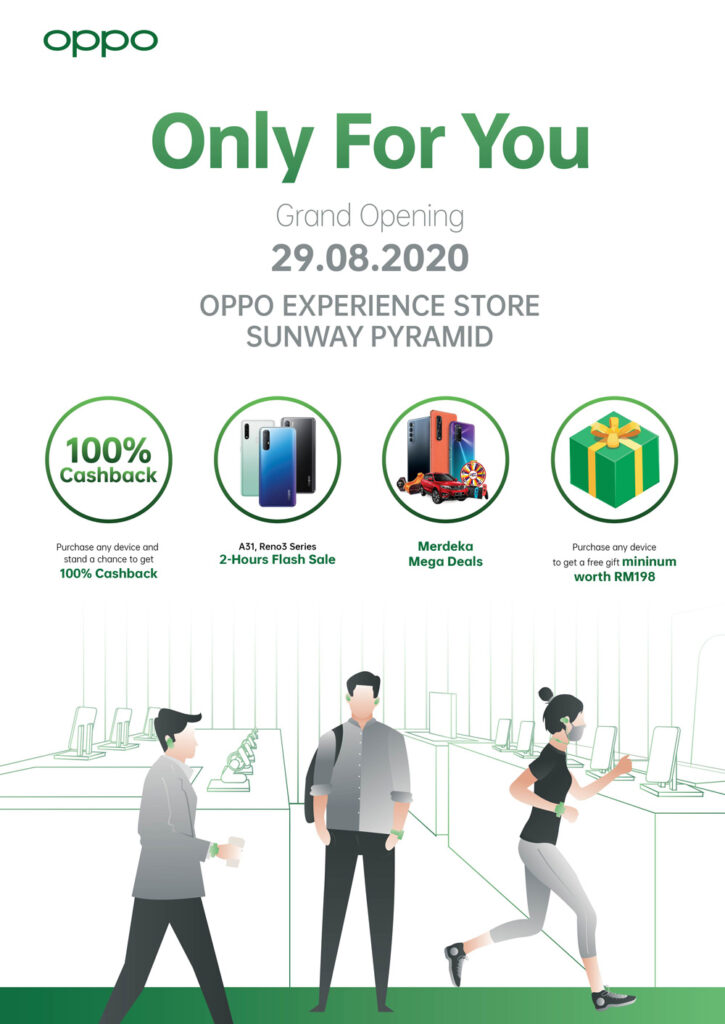 Sunway OPPO Experience Store To Launch Where You Can Win A Proton X70 28