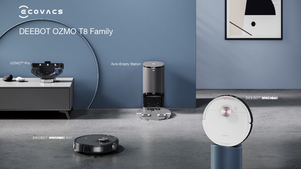 Meet The New ECOVACS DEEBOT OZMO T8 Lineup Of Smart Home Cleaners 26