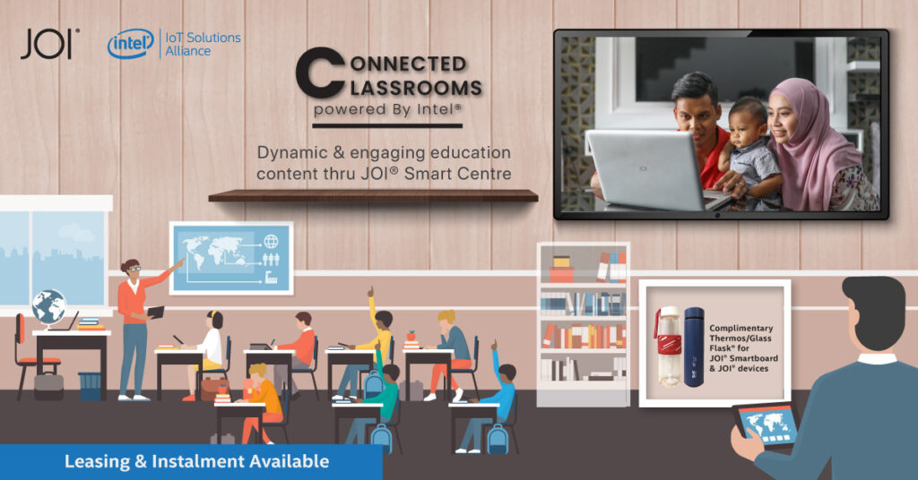 Make Learning Fun Again with the Interactive JOI® Classroom and JOI® Smart Centre 21