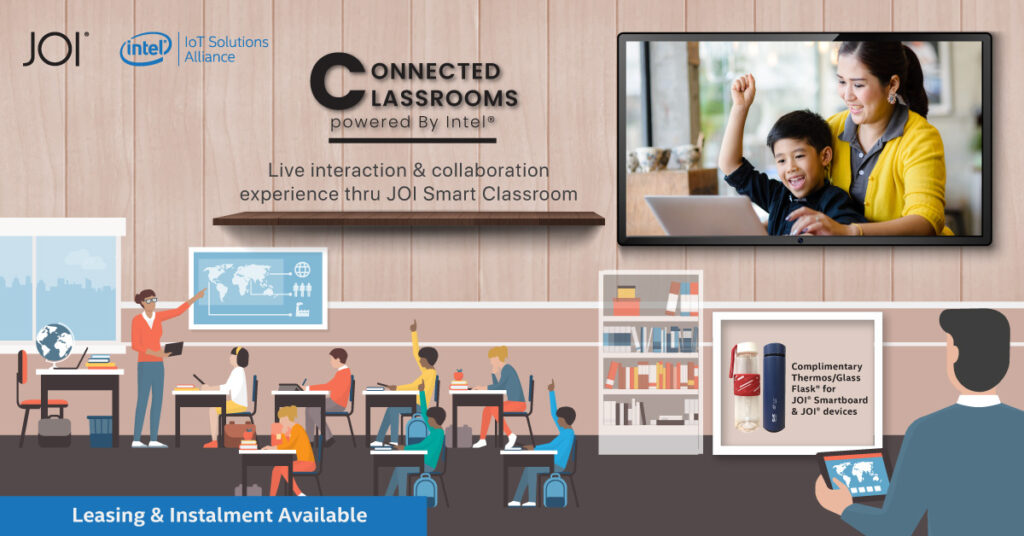 Make Learning Fun Again with the Interactive JOI® Classroom and JOI® Smart Centre 19