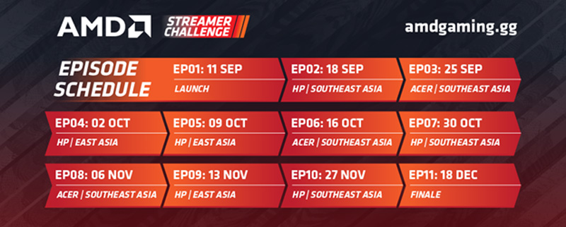 Streamers Will Battle Each Other At AMD Streamer Challenge For $20,000 Prize Pool 20