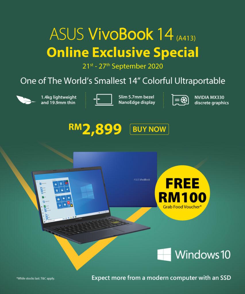 ASUS VivoBook 14 Ultraportable Laptop Online Deal Now Running 21