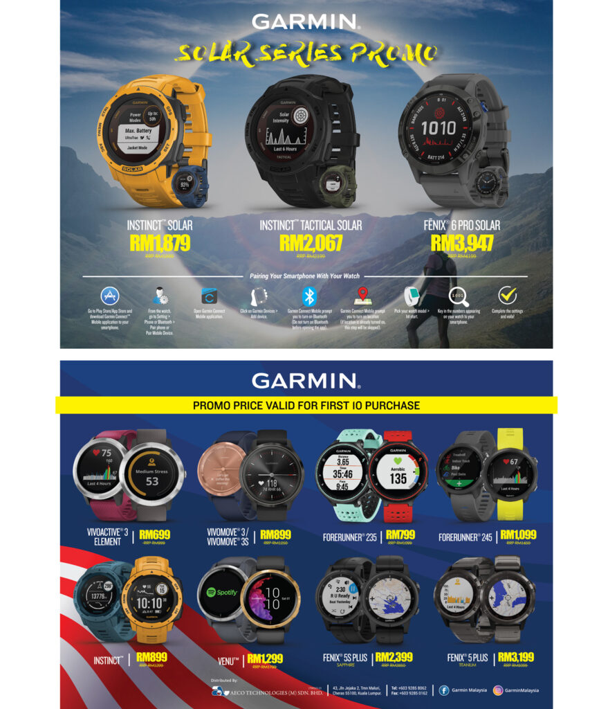 Garmin Malaysia Day Roadshow Now Running With Up To 38% Discount On Offer 22