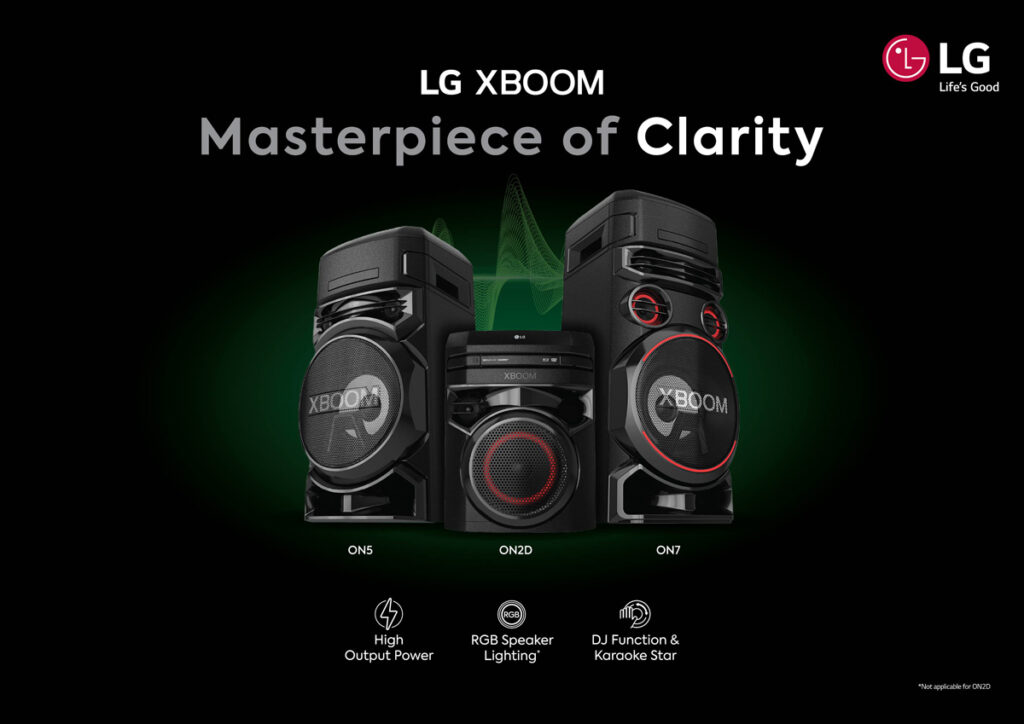 LG Malaysia Unveils Their New LG XBOOM On And LG XBOOM Go PL Speaker Lineup 21