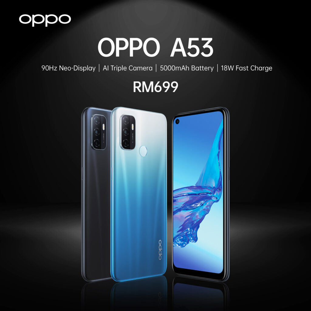 OPPO A53 With 90Hz And 5000mAh Battery Available At RM699 21