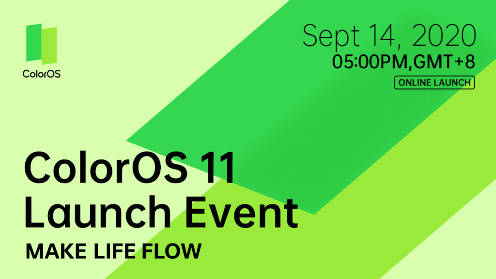 OPPO Unveils ColorOS 11 Global Launch Date 22