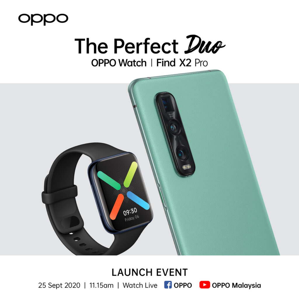 OPPO Watch And OPPO Find X2 Pro Green Vegan Leather Coming This 25 September 20