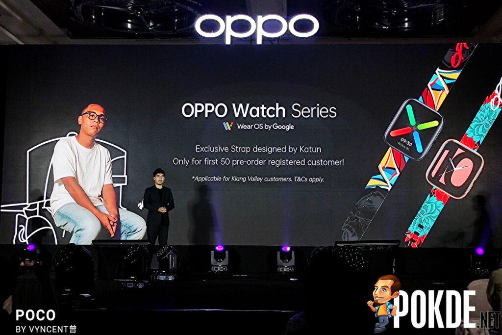 OPPO Watch free Katun strap