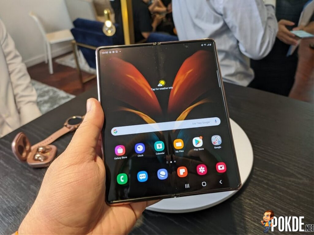 Samsung Galaxy Z Fold2 Open