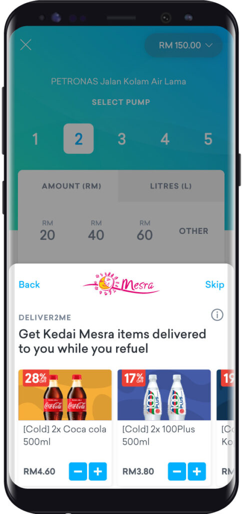 Setel Introduces New Deliver2Me And In-Store Cashless Payment Services At PETRONAS Stations 21