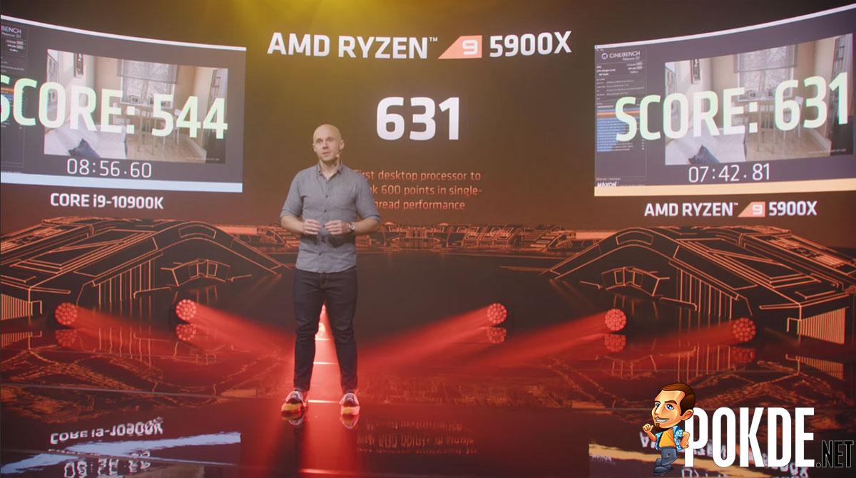 AMD Ryzen 9 3900X Cinebench R20