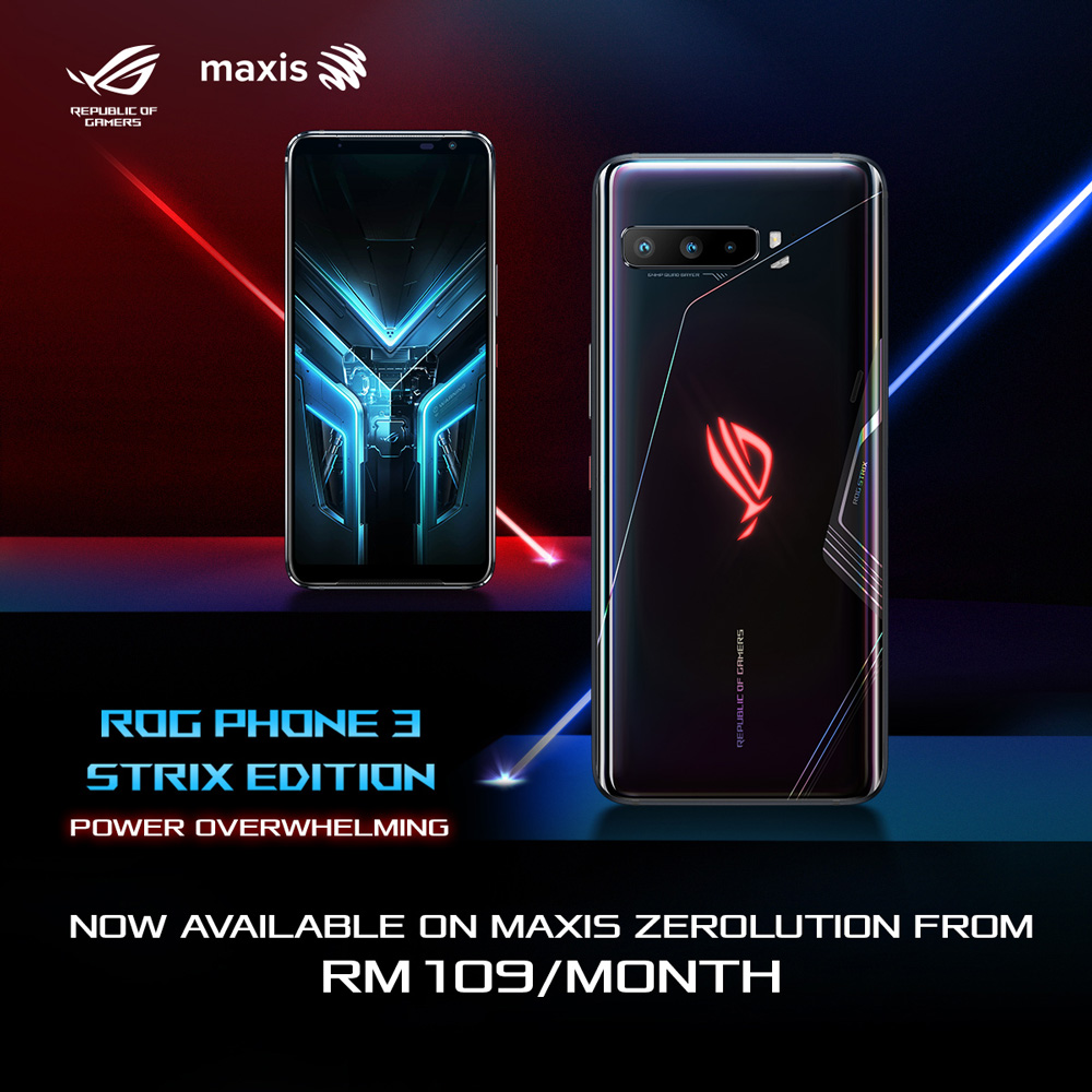 ROG Phone 3 Strix Edition Available With Maxis Zerolution Plan From RM108/month 23