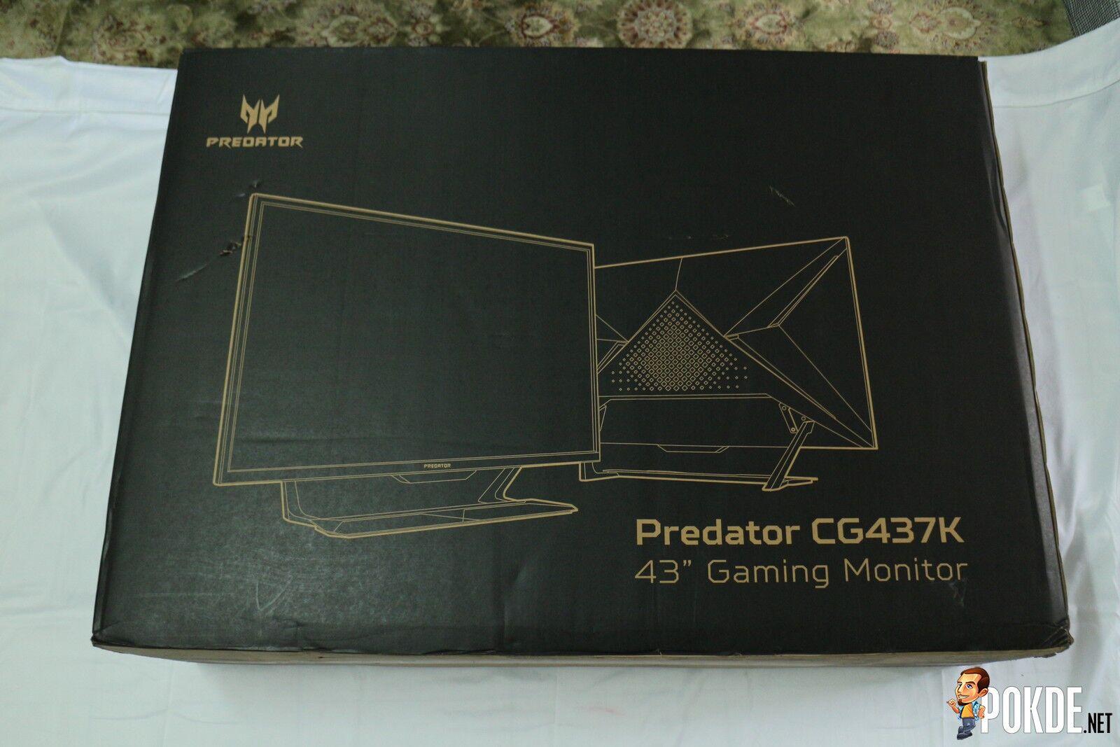 Acer Predator CG437K P Review