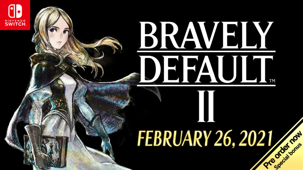 BRAVELY DEFAULT II Launch Date