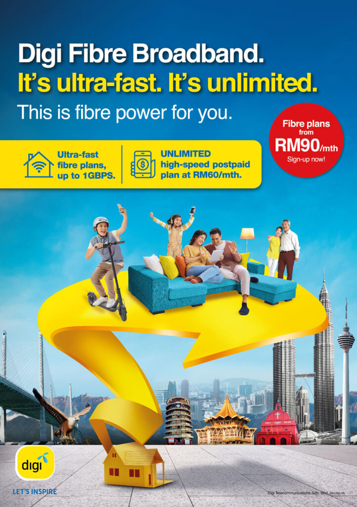 Digi Expands Fibre Broadband Coverage And Introduce Two New Plans From RM90/month 19