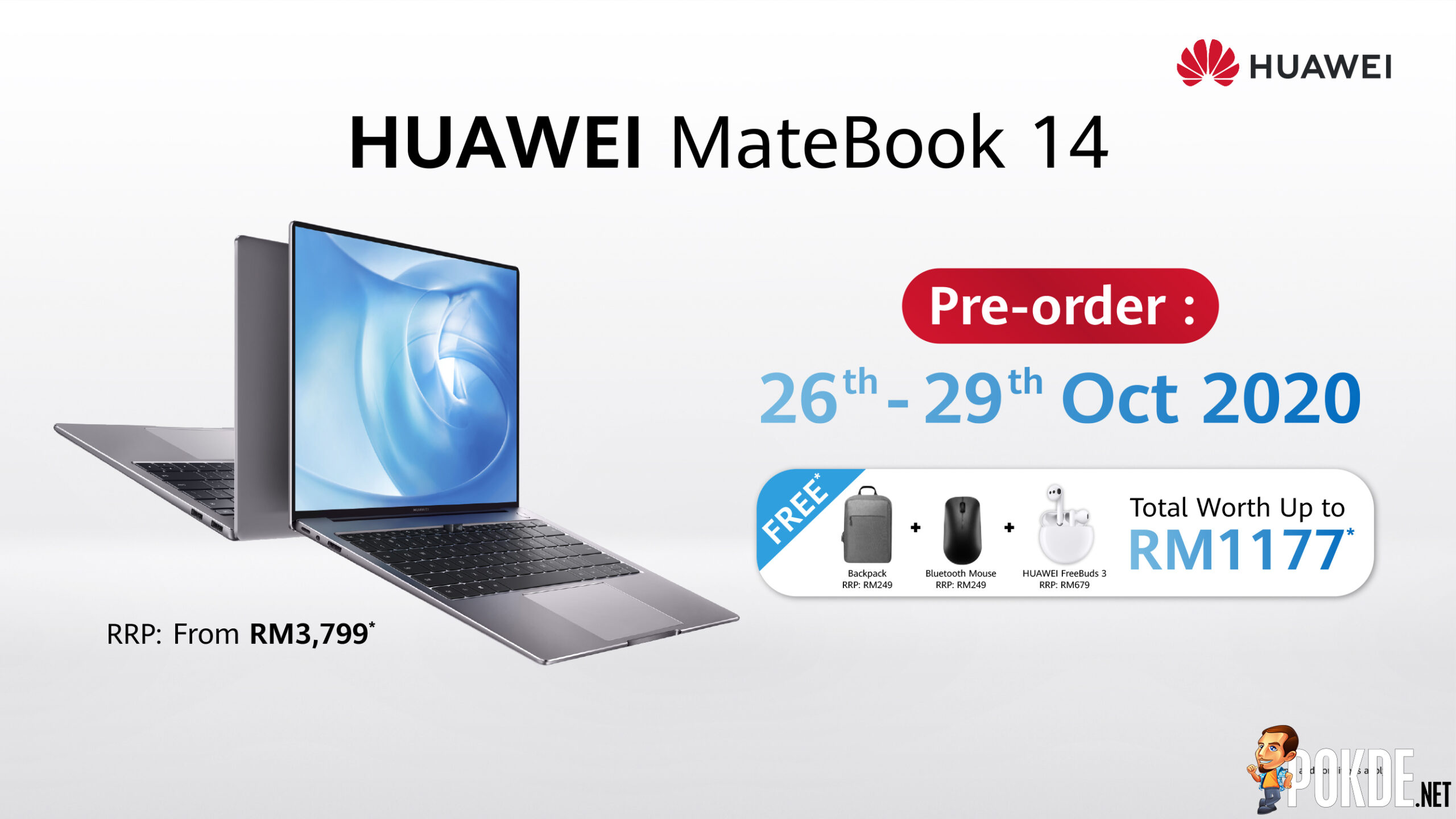 HUAWEI MateBook 14 Price and Pre-order