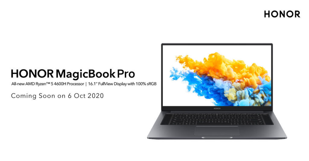 HONOR MagicBook Pro And HONOR Watch GS Pro Arriving This 6 October 16